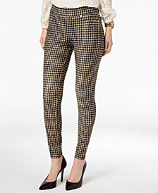 MICHAEL Michael Kors Printed Pull-On Pants, In Regular & Petite Sizes