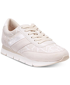 Calvin Klein Women's Tea Logo Sneakers