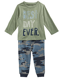 First Impressions Baby Boys T-Shirt & Jogger Jeans, Created for Macy's