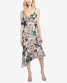 RACHEL Rachel Roy Ruffled Asymmetrical Dress, Created for Macy's