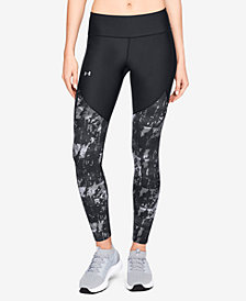 Under Armour Vanish Printed Microthread Leggings