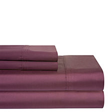 Pointehaven Solid 4-Pc. California King Sheet Set, 400 Thread Count Cotton Sateen