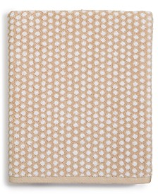 CLOSEOUT! Charter Club Elite Cotton Fashion Dot Washcloth, Created for Macy's