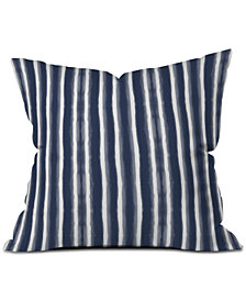 Deny Designs Emanuela Carratoni Indigo Style Throw Pillow