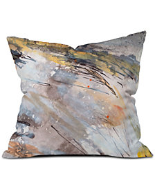Deny Designs Ginette Fine Art Feathers In The Wind Throw Pillow