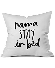 Chelcey Tate NamaSTAY In Bed Throw Pillow