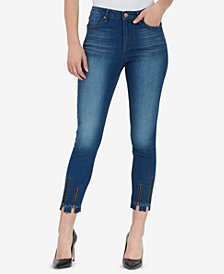 WILLIAM RAST Zip-Detail Ankle Skinny Jeans