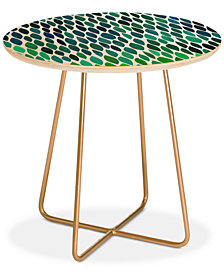 Deny Designs Garima Dhawan connections 2 Round Side Table