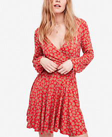 Free People Pradera Floral-Print Wrap Dress