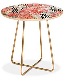 Deny Designs Marta Barragan Camarasa Abstract Tropical Round Side Table