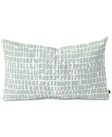 Deny Designs Iveta Abolina Cobbler Square Sage Oblong Throw Pillow