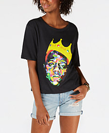 Merch Traffic Juniors' Cotton Biggie-Graphic T-Shirt