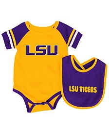Colosseum LSU Tigers Rollout Creeper and Bib Set, Infants (0-9 Months)