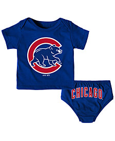 Outerstuff Chicago Cubs Mini Uniform Set, Infants (12-24 Months)