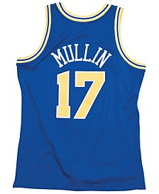 Men's Chris Mullin Golden State Warriors Hardwood Classic Swingman Jersey