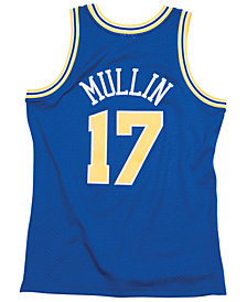 Mitchell & Ness Men's Chris Mullin Golden State Warriors Hardwood Classic Swingman Jersey