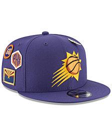 New Era Boys' Phoenix Suns On-Court Collection 9FIFTY Snapback Cap