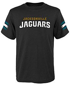 Outerstuff Jacksonville Jaguars Goal Line T-Shirt, Big Boys (8-20)