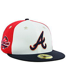 New Era Atlanta Braves All Star Game Patch 59FIFTY FITTED Cap