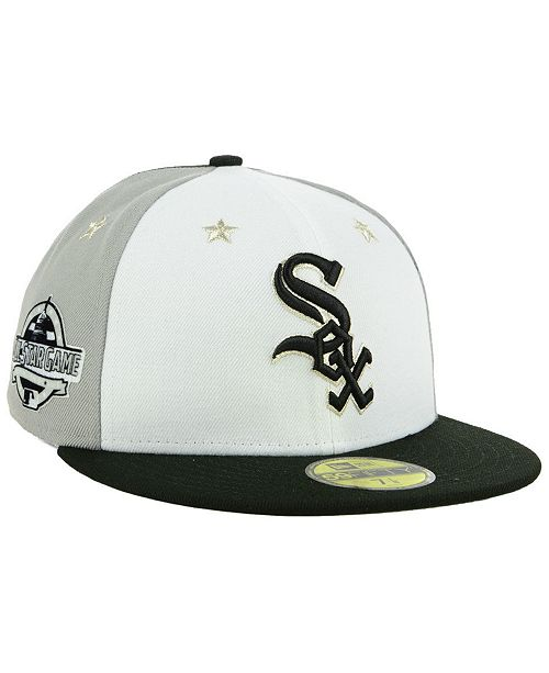 9ceece9e519 New Era Chicago White Sox All Star Game Patch 59FIFTY FITTED Cap ...