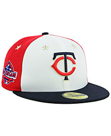 New Era Minnesota Twins All Star Game Patch 59FIFTY FITTED Cap