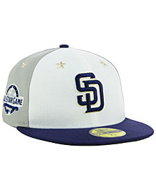 New Era San Diego Padres All Star Game Patch 59FIFTY FITTED Cap