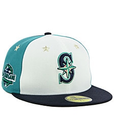 New Era Seattle Mariners All Star Game Patch 59FIFTY FITTED Cap