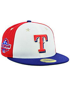 New Era Texas Rangers All Star Game Patch 59FIFTY FITTED Cap