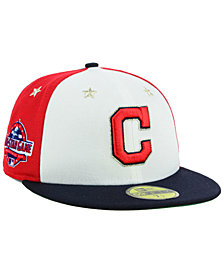 New Era Boys' Cleveland Indians All Star Game w/Patch 59FIFTY FITTED Cap
