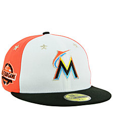 New Era Boys' Miami Marlins All Star Game w/Patch 59FIFTY FITTED Cap