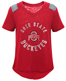 Outerstuff Ohio State Buckeyes Retro Block T-Shirt, Girls (4-16)