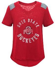 Outerstuff Ohio State Buckeyes Retro Block T-Shirt, Girls (4-16)