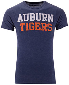 Retro Brand Men's Auburn Tigers Team Stacked Dual Blend T-Shirt