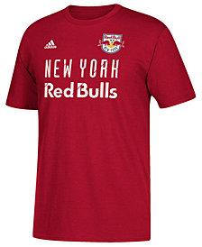 adidas Men's New York Red Bulls Jersey Hook T-Shirt
