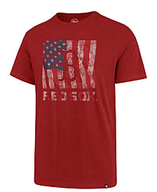 '47 Brand Men's Boston Red Sox Pastime Flag T-Shirt