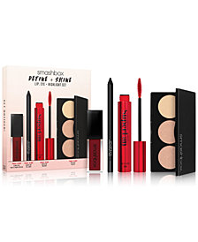 Smashbox 4-Pc. Define & Shine Lip, Eye & Highlight Set, A $96 Value!