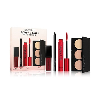 4-Piece Smashbox Define & Shine Lip Eye & Highlight Set