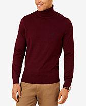 Turtleneck Mens Sweaters Mens Cardigans Macys