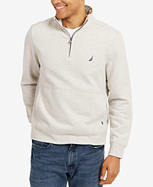 Nautica Men's Quarter-Zip Fleece Pullover