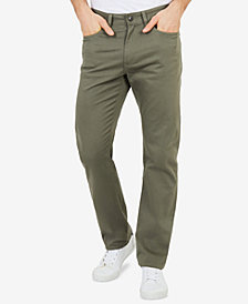 Nautica Men's Flat-Front Deck Pants