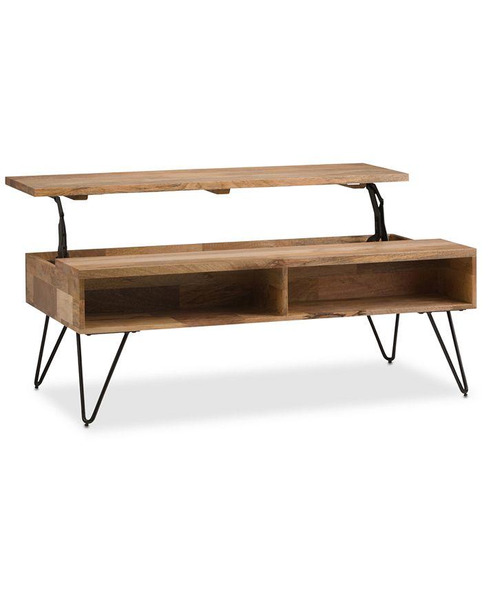 Simpli Home - Mardel Coffee Table, Quick Ship