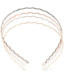 France Luxe Multi-Tone 4-Pc. Set Wave Headbands