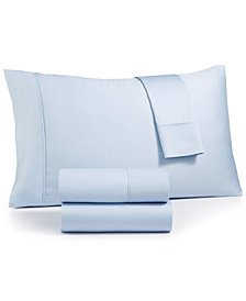 Sunham Emory 4-Pc. California King Sheet Set, 420 Thread Count Egyptian Blend