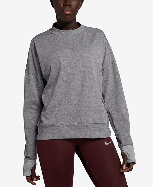 d0546d86 Nike Therma Sphere Element Running Top & Reviews - Tops - Women - Macy's