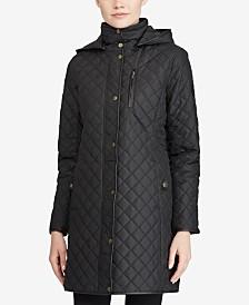 Lauren Ralph Lauren Icon Hooded Quilted Jacket, Created For Macys