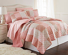 Micro Flannel® Full/Queen Berry Patch Plaid Quilt Mini Set