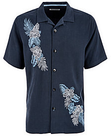 Tommy Bahama Men's Coronado Falls Embroidered Silk Shirt