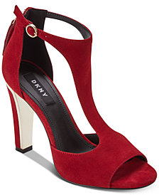 DKNY Colby T-Strap Sandals, Created For Macy's