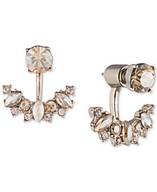 Marchesa Gold-Tone & Stone Ear Jacket Earrings