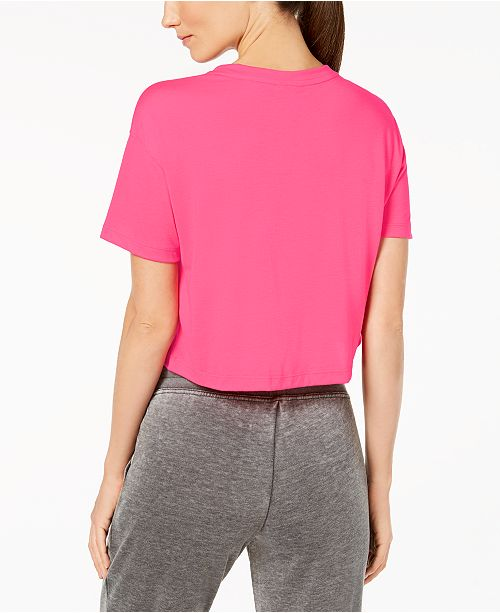 30780ce3483ebe Nike Sportswear Essential Cropped Top   Reviews - Tops - Women - Macy s